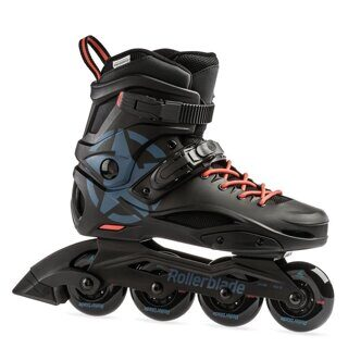 Роликовые коньки Rollerblade Cruiser black grey blue